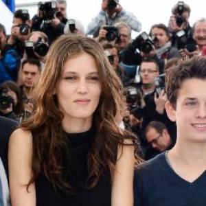 """Marine Vacth au photocall de """"Jeune & Jolie"""" au 66e Festival de Cannes."""
