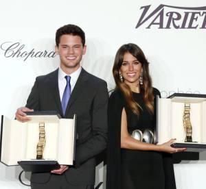 Cannes 2013 : le Trophee Chopard recompense Jeremy Irvine et Blanca Suarez