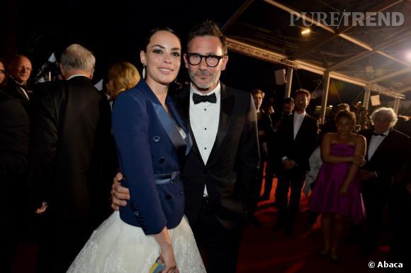 """Bérénice Bejo et Michel Hazanavicius à la projection du film """"Le Passéé pour la troisième journée de Festival de Cannes 2013."""