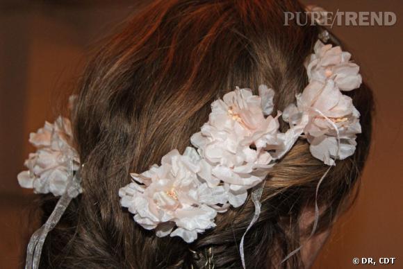 Carnet de mariage, les dernières retouches :  La mariée se transforme en nymphe.