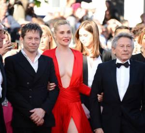Cannes 2013 : Emmanuelle seigner, Audrey Tautou, Tilda Swinton, la montee des marches jour 11