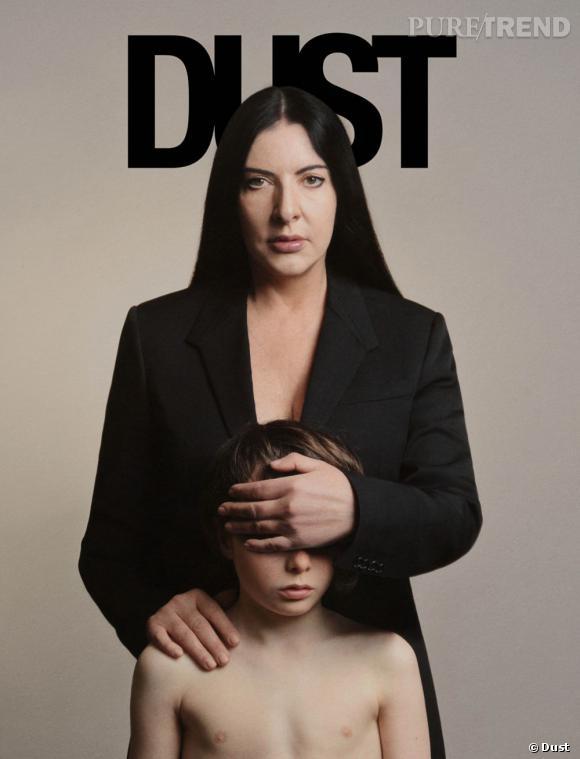 Dust issue #4 avec Marina Abramović