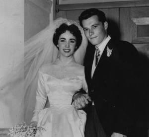 Elizabeth Taylor : sa premiere robe de mariee vendue aux encheres
