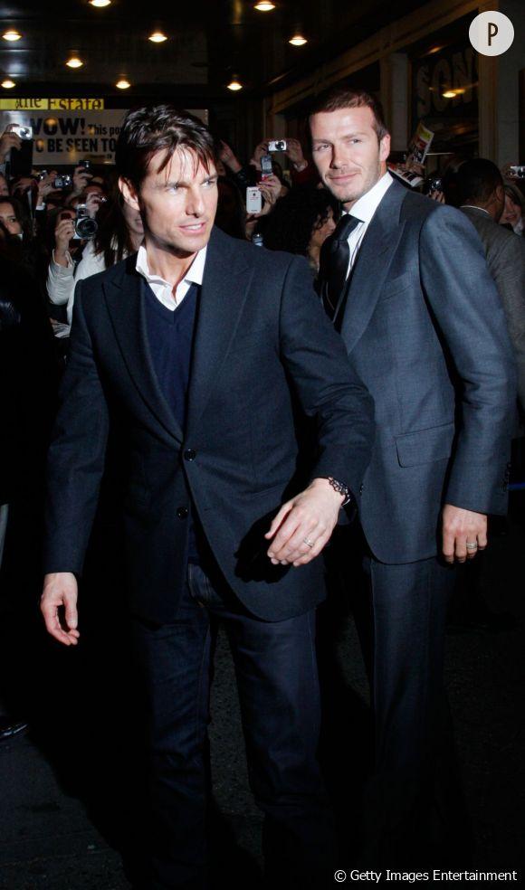 David Beckham bientôt au cinéma grâce à Tom Cruise ?