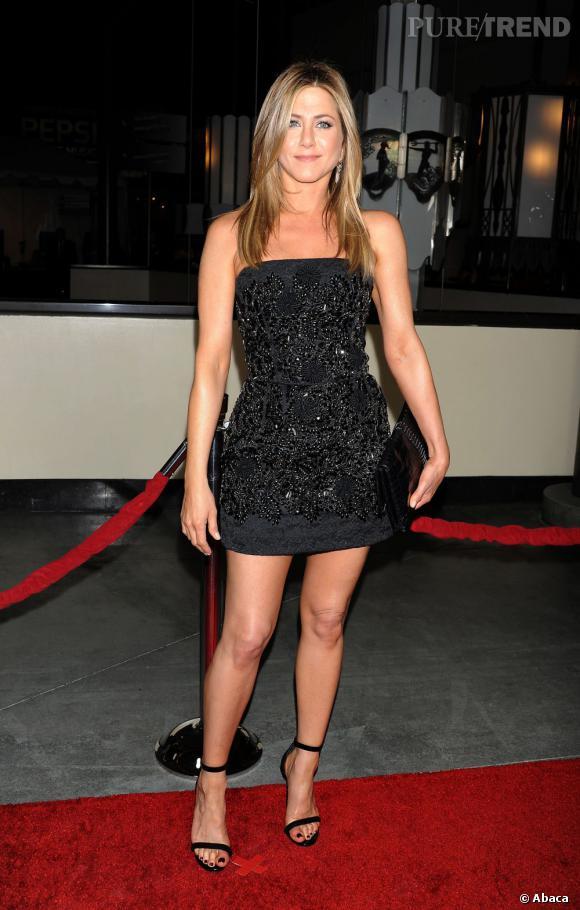 Des jambes fines et galbées comme Jennifer Aniston ? On veut !