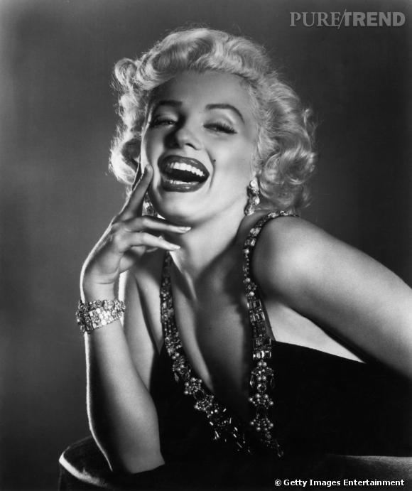 Marylin Monroe et son magnifique grain de beauté si glamour.
