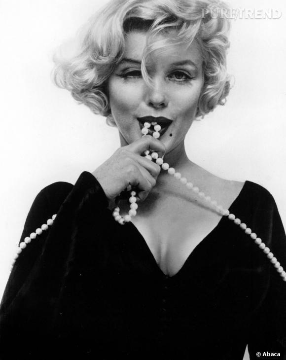 Marilyn Monroe sait poser pour les photographes et être sexy.