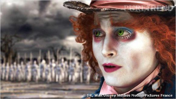 Tim Burton avait mis toutes les chances de son côté avec un Johnny Depp impressionnant dans le rôle du chapelier fou.