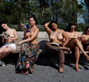 Se promener seins nus à New York est tout à fait légal