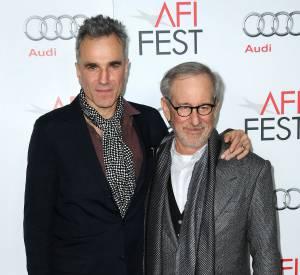 Steven Spielgerg et Daniel Day-Lewis à l'AFI Fest, en novembre 2012.