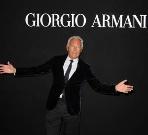 "Giorgio Armani à sa soirée ""One Night Only""."