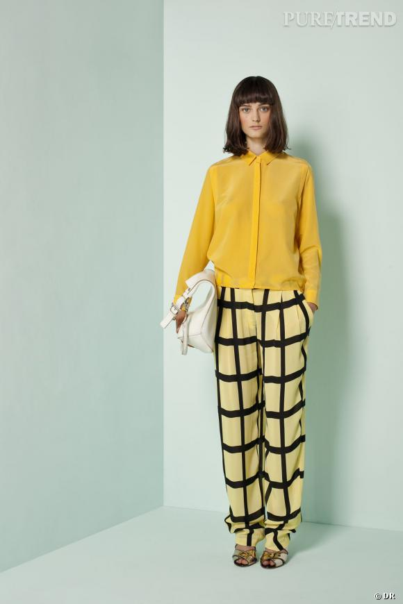 Le bon shopping pour adopter les carreaux version Printemps-Eté 2013 :      Le pantalon Bimba & Lola ! Lookbook SS2013