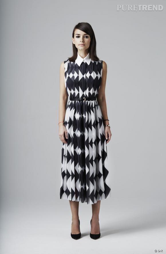 Le bon shopping pour adopter les carreaux version Printemps-Eté 2013 :      Le robe American Retro / Collection capsule