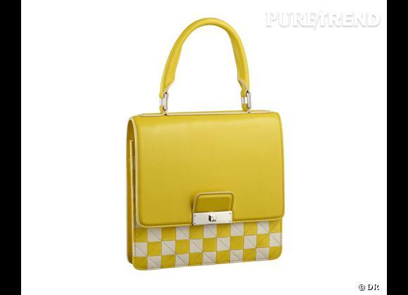 Le bon shopping pour adopter les carreaux version Printemps-Eté 2013 :      Sac Louis Vuitton, prix sur demande