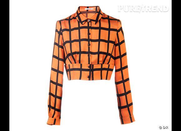 Le bon shopping pour adopter les carreaux version Printemps-Eté 2013 :      Chemise Bimba & Lola, 340 €