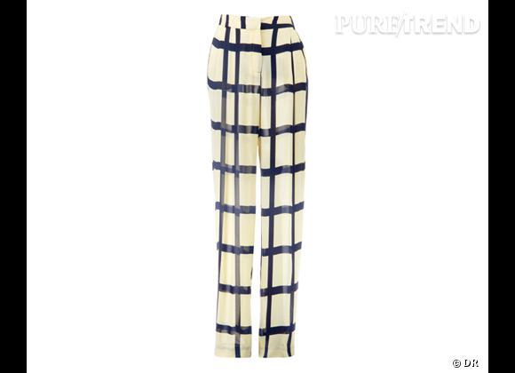 Le bon shopping pour adopter les carreaux version Printemps-Eté 2013 :      Pantalon Bimba & Lola, 175 €