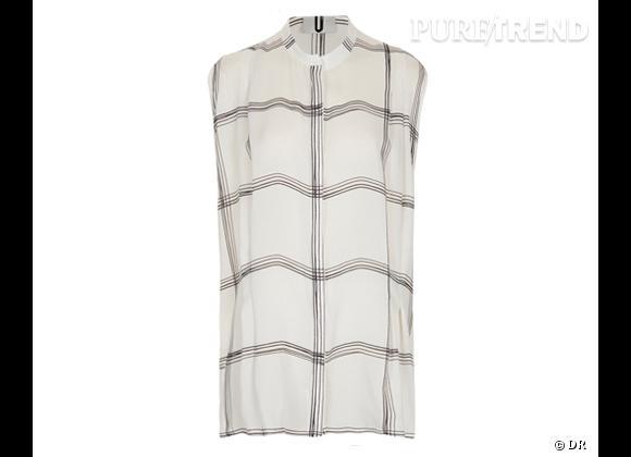 Le bon shopping pour adopter les carreaux version Printemps-Eté 2013 :      Chemise Topshop Unique, 124 €