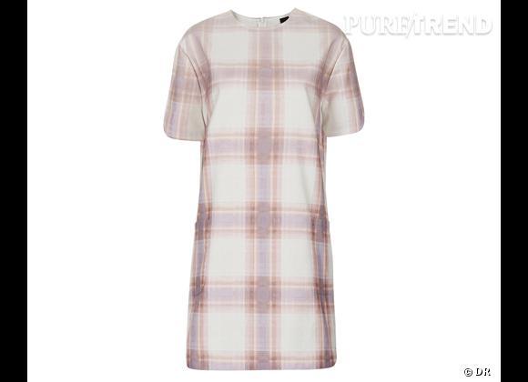 Le bon shopping pour adopter les carreaux version Printemps-Eté 2013 :      Robe Topshop Unique, 124 €