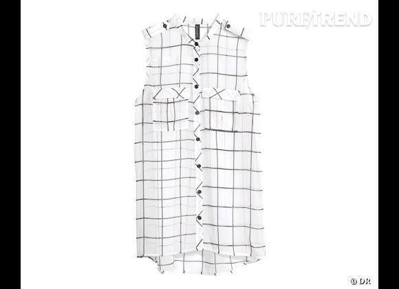 Le bon shopping pour adopter les carreaux version Printemps-Eté 2013 :      Chemise H&M, 19,95 €