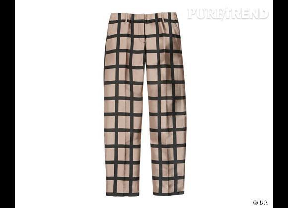 Le bon shopping pour adopter les carreaux version Printemps-Eté 2013 :      Pantalon J.Crew, 257,50 € sur Net-a-porter.com