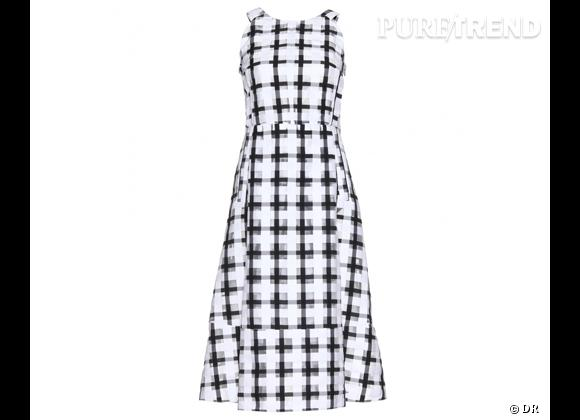 Le bon shopping pour adopter les carreaux version Printemps-Eté 2013 :      Robe Marni, 1290 € sur Mytheresa.com