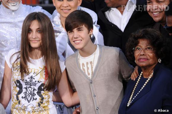 Paris Jackson et Justin Bieber, il y a quelques années, c'était déjà sourires crispés & co.