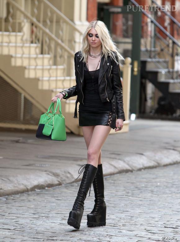 """Taylor Momsen s'est fait connaître grâce à la série """"Gossip Girl"""", même si elle en est partie rapidement."""