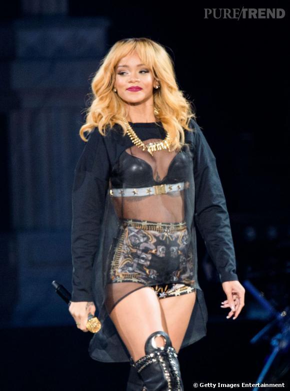 Rihanna est toujours sur les routes pour sa tournée mondiale Diamonds.