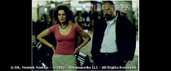 """Il a également donné la réplique à Julia Roberts dans """"Le Mexicain"""" en 2001."""