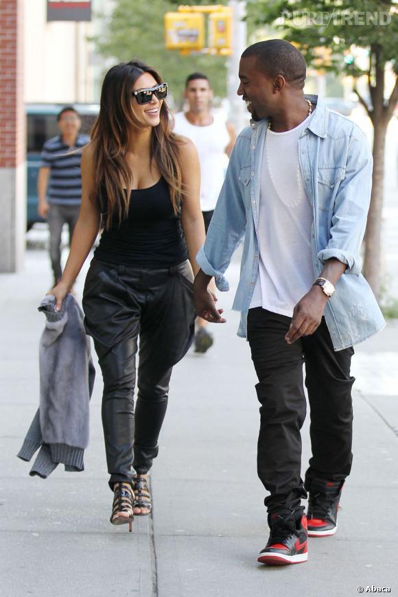 Kim Kardashian et Kanye West, des parents heureux avec la naissance de leur bébé.