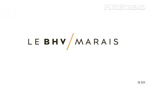 Le nouveau logo de l'enseigne qui devient désormais : Le BHV/Marais.