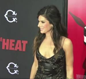"""La première de """"The Heat"""" à New York avec Sandra Bullock et Melissa McCarthy."""