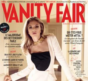 Scarlett Johansson, icone glamour en couverture du premier Vanity Fair francais