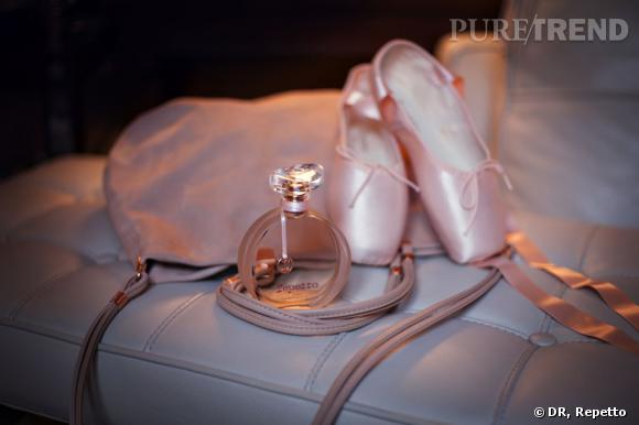 Le premier parfum de Repetto.