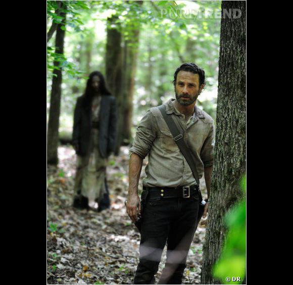 """""""30 Days Without an Accident"""", voilà le titre du premier épisode de """"The Walking Dead""""."""
