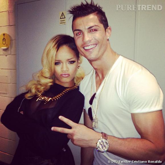 "Rihanna, la bourde : ""Cristiano Ronaldo est mon ami gay""."