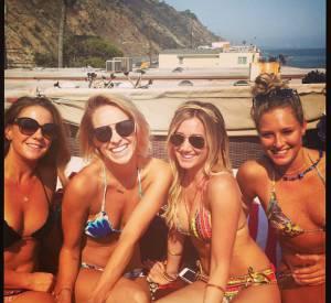 Anniversaire à la plage pour Ashley Tisdale et ses amies !