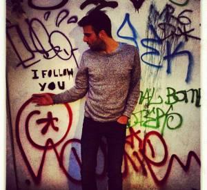 Zachary Quinto apprécie le street-art !