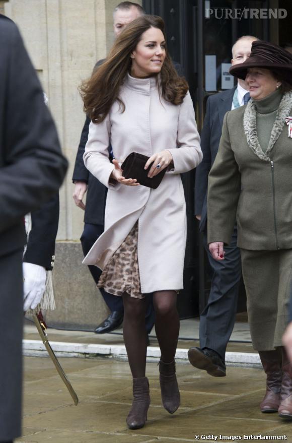 Icône mode : Kate    Kate Middleton a inspiré Max Mara qui a crée un modèle de manteau pour elle.