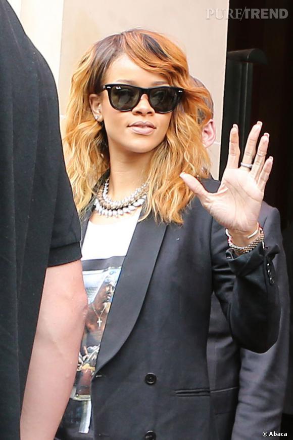 """Rihanna continue actuellement sa tournée mondiale, le """"Diamonds World Tour""""."""