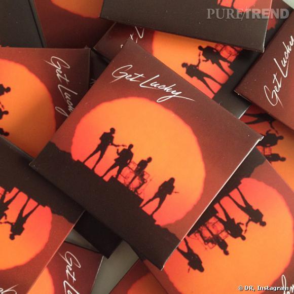 """Daft Punk et Durex sortent les préservatifs """"Get Lucky""""."""