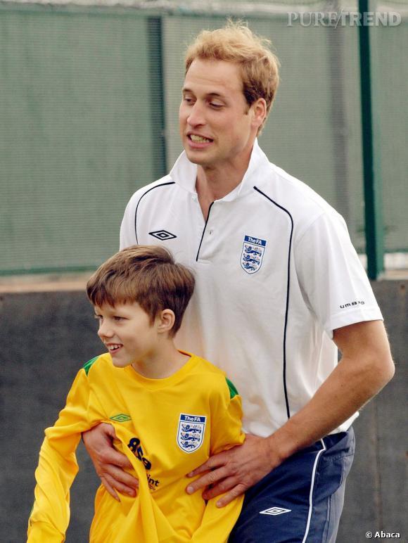 Prince William fera très probablement beaucoup de sport avec son enfant.