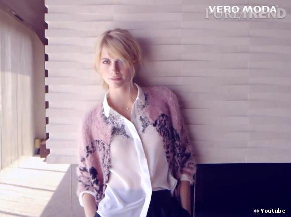 Campagne de l'Automne 2013 de Vero Moda avec Poppy Delevingne.
