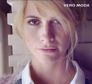 Vidéo de la campagne de l'Automne 2013 de Vero Moda avec Poppy Delevingne.