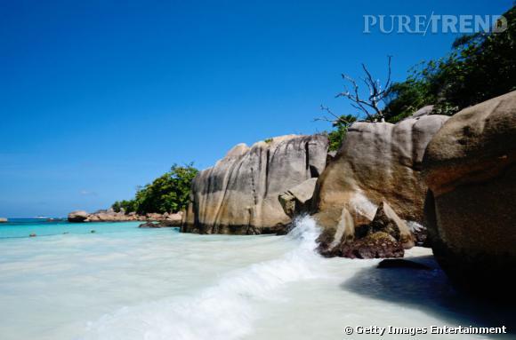 10 top des plus belles plages du monde en 2013 :  Plage Anse Lazio aux Seychelles.