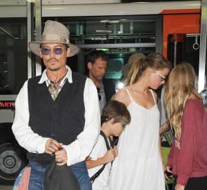 Johnny Depp et Amber Heard : couple secret pour la promotion de Lone Ranger