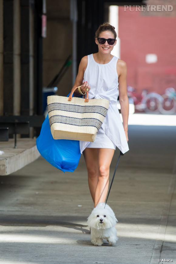 Olivia Palermo, la citadine la plus chic de New York.
