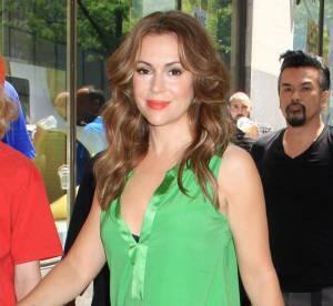 Alyssa Milano, un look bi-gout qui pique les yeux... Le flop mode
