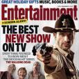 """Andrew Lincoln alias Rick Grimes dans """"The Walking Dead"""" en couverture d'Entertainement Weekly."""
