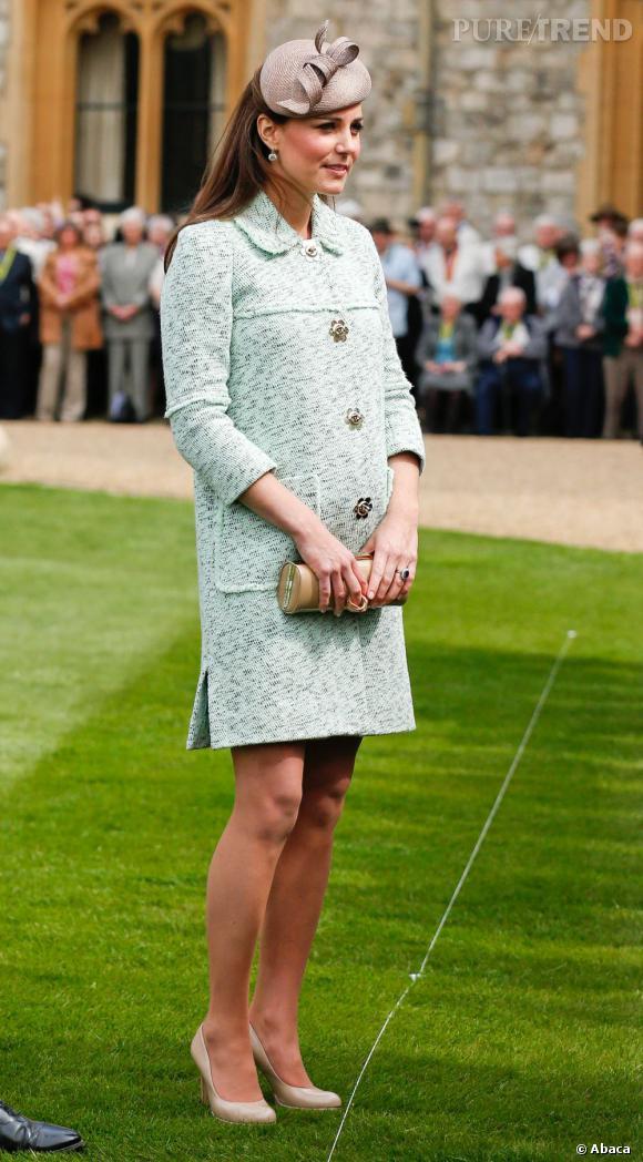 Kate Middleton est enfin prête à accoucher.